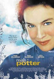 Movie cover.  Miss Potter