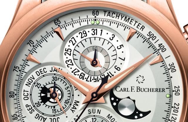 The Manero Chonoperpetual Ref. 00.10906.03.13.01 Dial