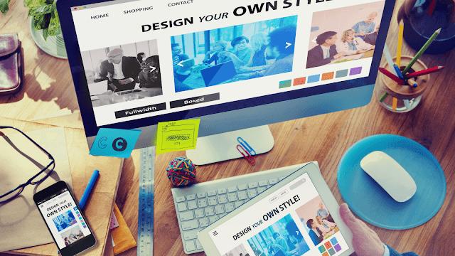 Pengertian Desain Web web design