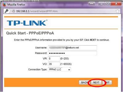 Cara Seting Modem TP-LINK, Modem Telkom Speedy (4)