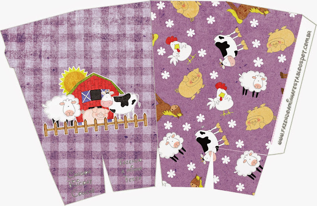 The Farm in Purple: Free Printable Party Boxes.