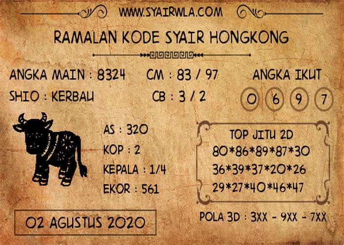 Kode syair Hongkong Minggu 2 Agustus 2020 315