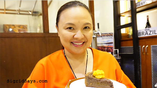 Farm to Table Iloilo restaurant - Chef Pauline Banusing - chocolate cake