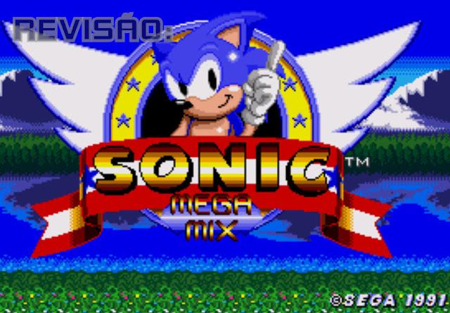 Retro Drive Games: Revisão: Sonic Megamix - Hack rom