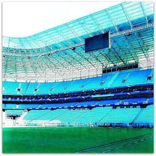 Gramado e Cadeiras da Arena do Grêmio