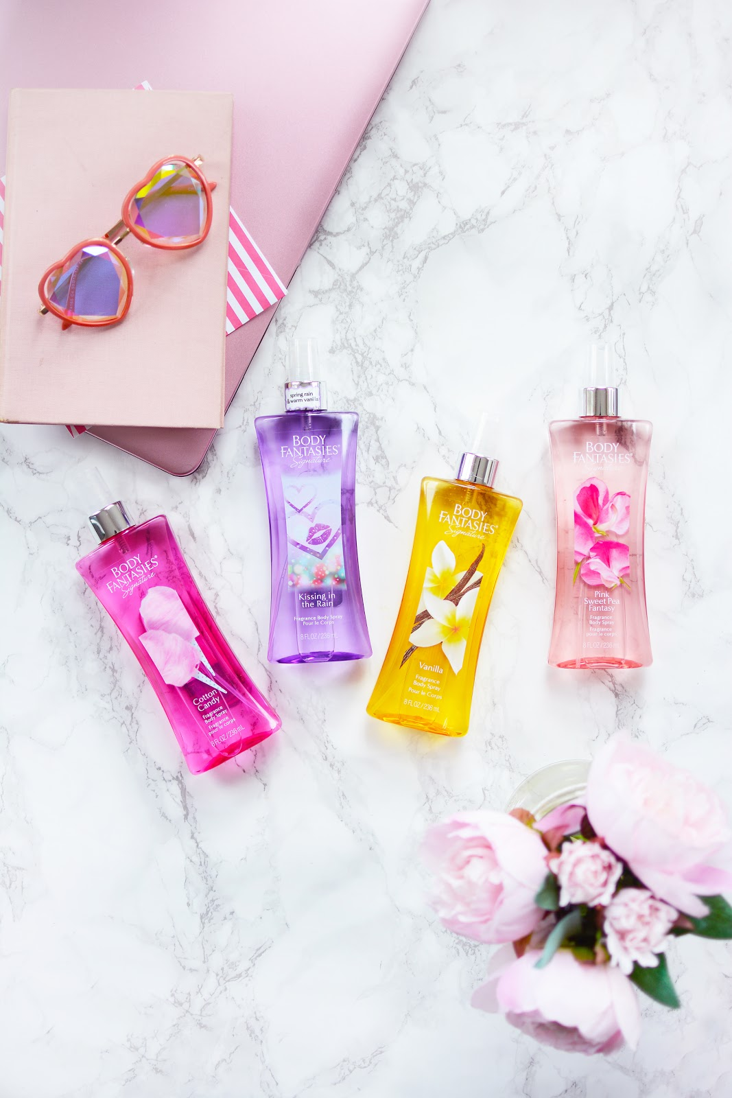 body fantasies body mists