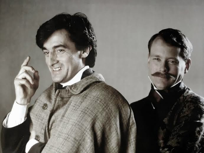 Bert Coules' first writing job led to Robin Rees as Sherlock Holmes in The Hound of the Baskervilles