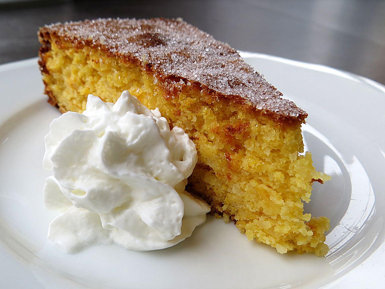 Sinnesfreuden Orangen Mandel Kuchen