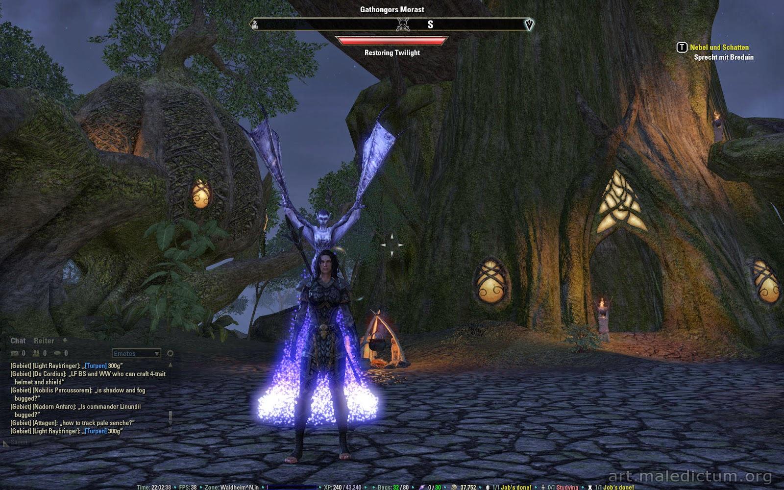 TES Online: Маг с Крылатым Сумраком