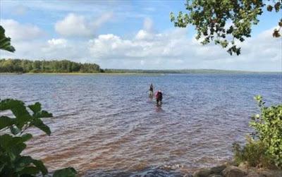 Σουηδία: Οκτάχρονη εντόπισε ξίφος 1.500 ετών σε λίμνη