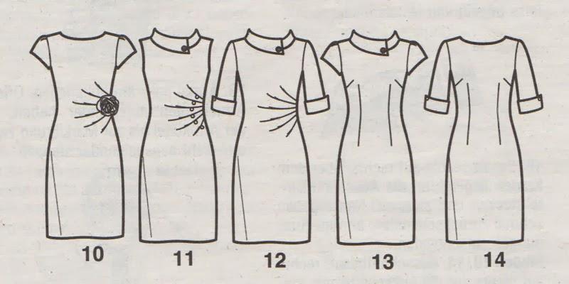 Schnittmuster kleid lange armel