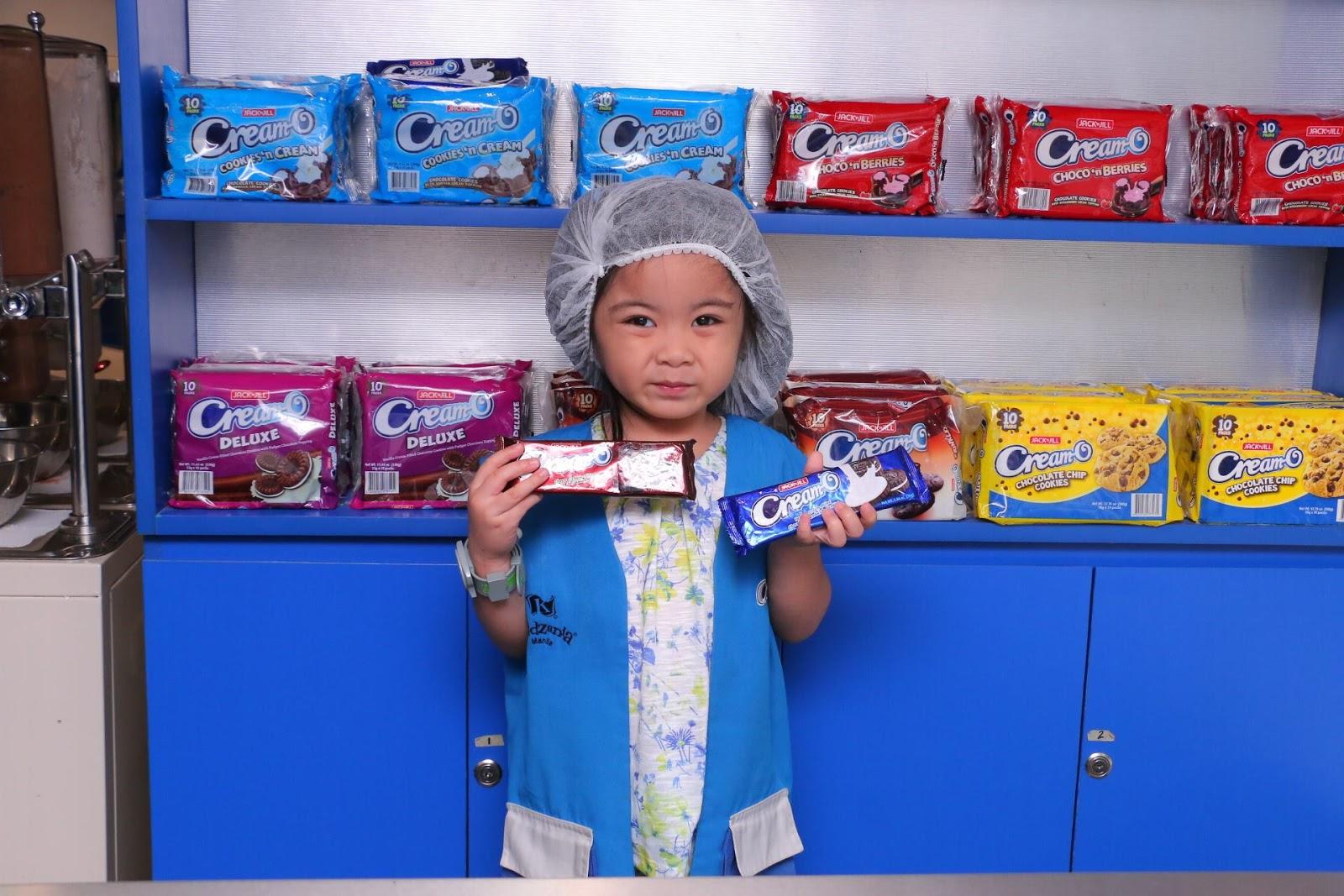 Cream-O Factory in KidZania Manila