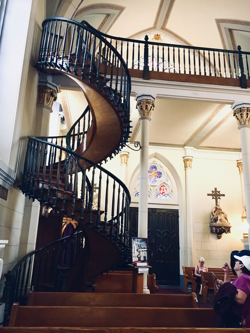 loretto chapel staircaise
