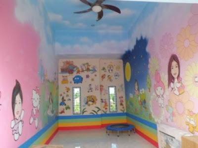 Mural dinding ruangan