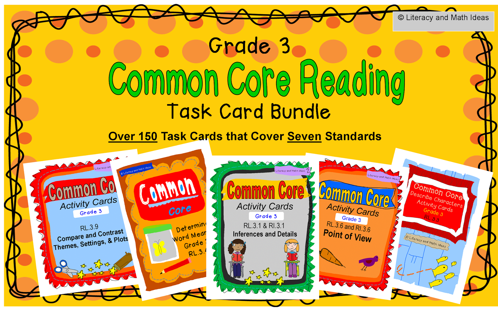 Literacy Amp Math Ideas Third Grade Common Core Reading