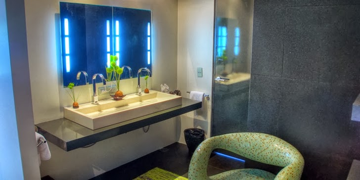 Bathroom in an Amazing contemporary Villa Yin in Phuket