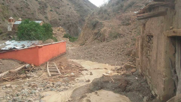 Varias comunidades aledañas a Villazón incomunicadas por granizadas