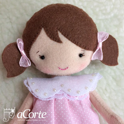 "alt=""Felt Little Doll"""