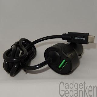 Tronsmart®36W Dual-Rapid-Ports USB Type C KFz-Ladegerät