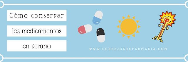 Cómo conservar los medicamentos en verano
