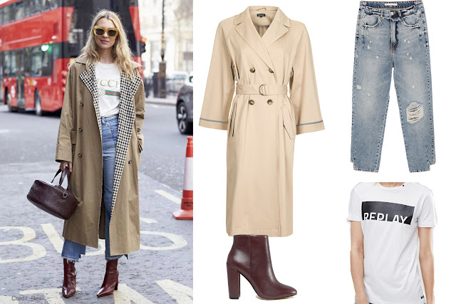 London Fashion Week Street Style Look and budget recreation