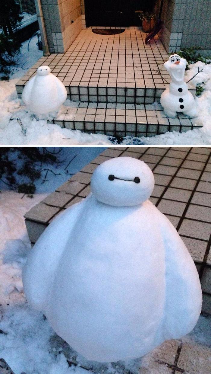 Muñecos de nieve creativos para este invierno | Quiero más diseño