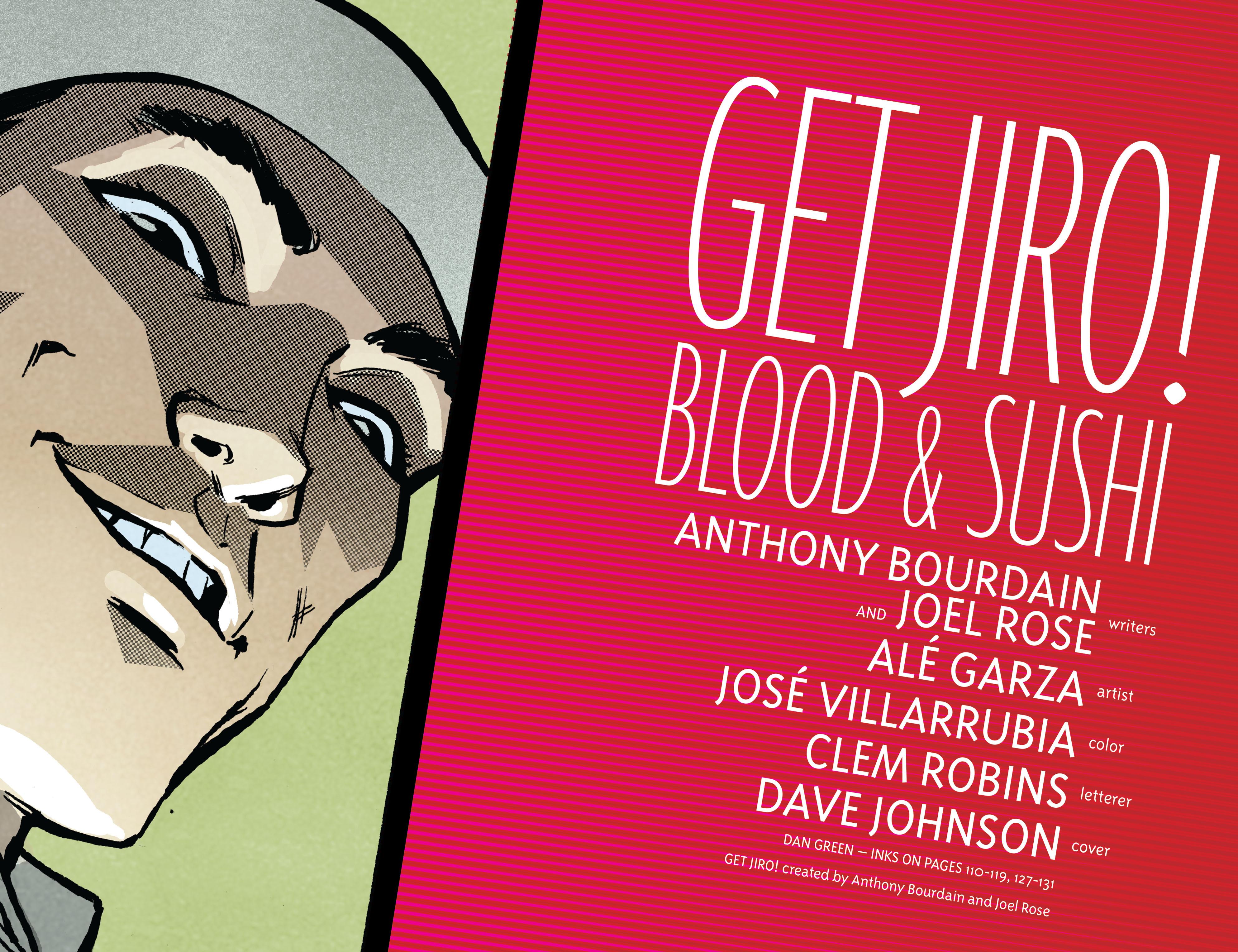 Get Jiro: Blood & Sushi - Sushi quyện máu