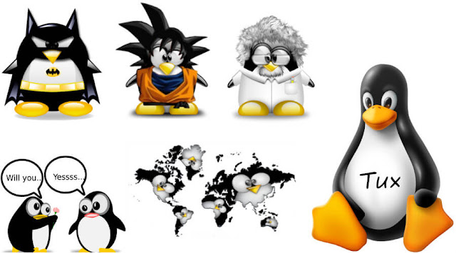 O mascote do Linux
