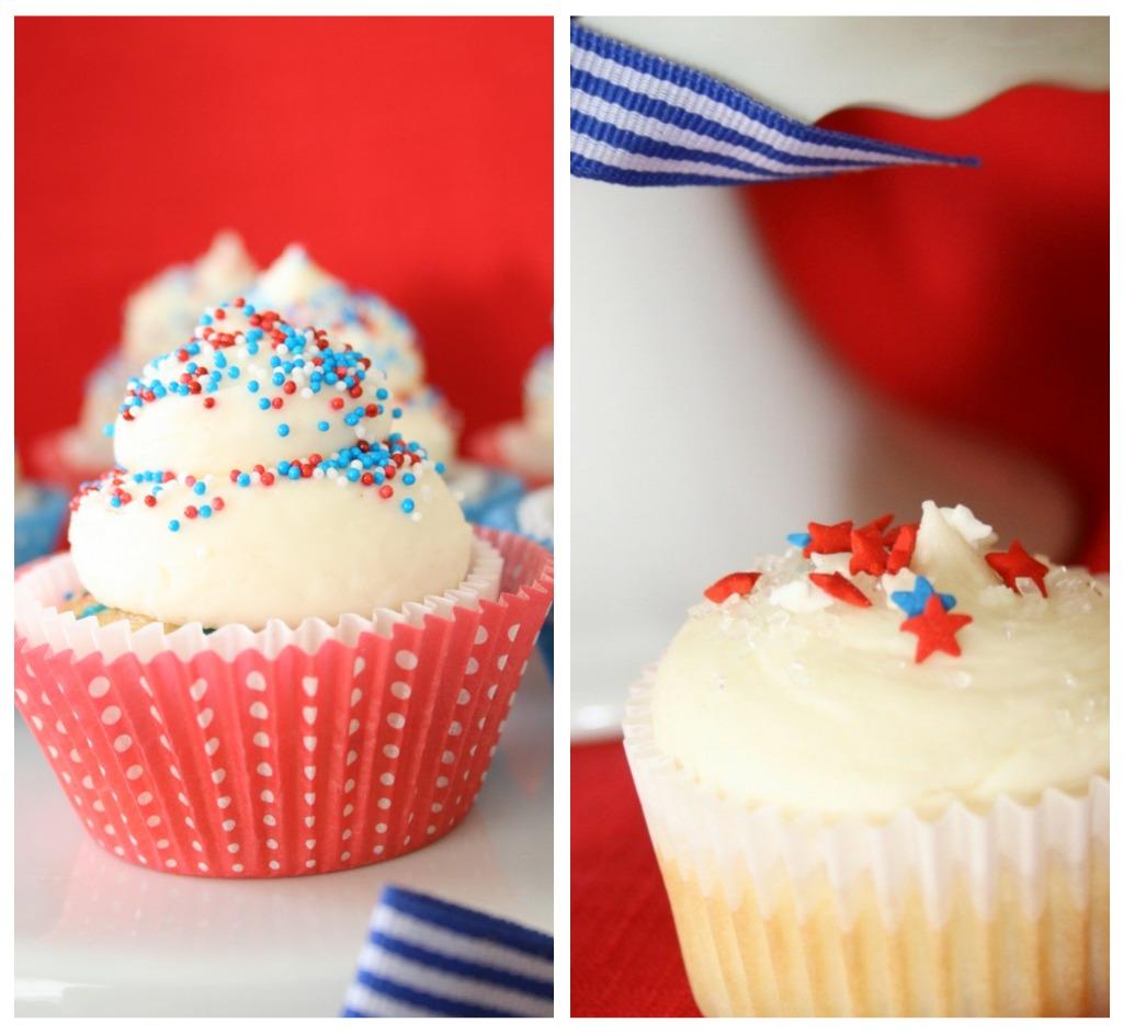Tweedle Dee Designs: {Cupcake Love} 4th Of July
