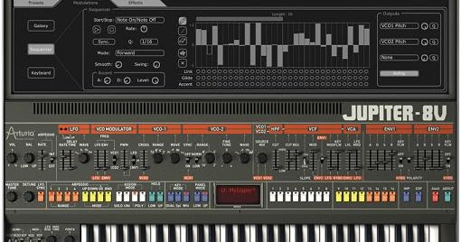Arturia Jupiter 8V v2 5 2 Incl AiR KeyGen MAC WiN ~ Music