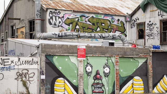 Pictures of Christchurch now: street art