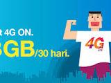 PAKET INTERNET 3/TRI/THREE 38 GB 30 HARI 90 RIBU