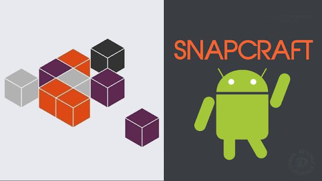 SnapCraft Ubuntu no Android