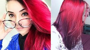 Cabelo Vermelho de Ariel, SEM TINTA !