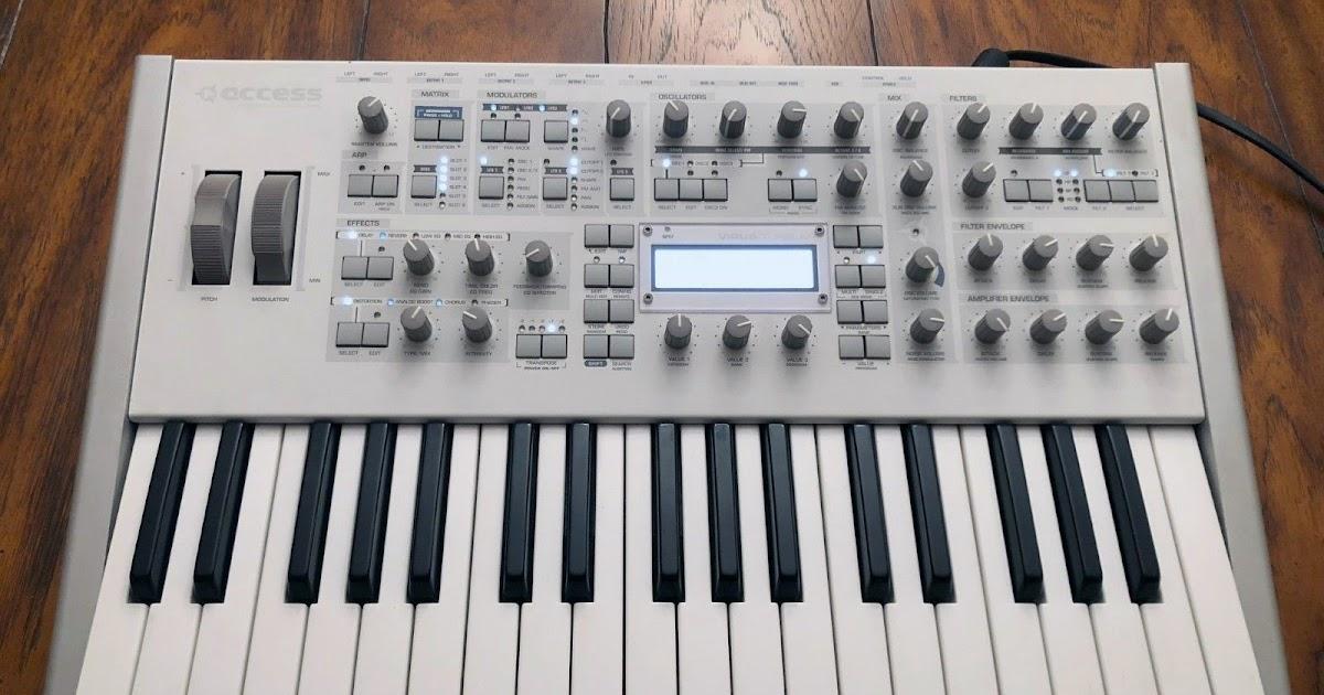 matrixsynth access virus ti polar synthesizer with factory upgrade to ti2 polar. Black Bedroom Furniture Sets. Home Design Ideas