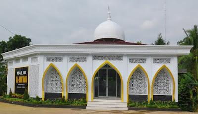 krawangan masjid Al Ma'wa