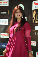 Monal Gajjar in Maroon Gown Stunning Cute Beauty at IIFA Utsavam Awards 2017 063.JPG