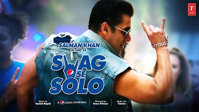 SWAG SE SOLO LYRICS - Salman Khan - Sachet Tandon