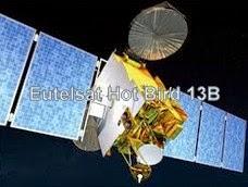 Eutelsat Hot Bird 13B at 13 0°E New Update Channel