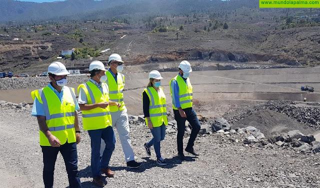 El Gobierno de Canarias prevé finalizar el 15 de julio las obras de la conducción Barlovento-Tijarafe