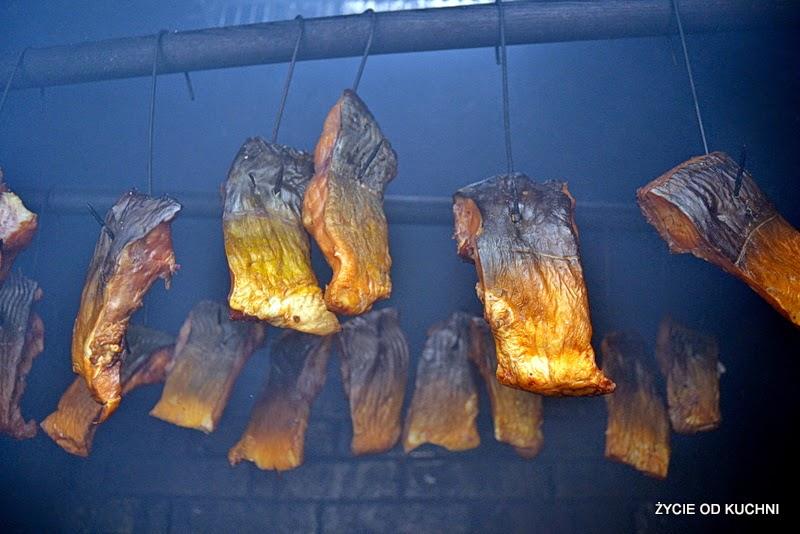 wedzona ryba, salatka z ryba, przepisy na salatki, wedzenie ryb, karp zatorski, zycie od kuchni,
