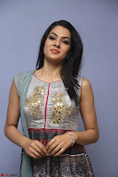 Sakshi Chaudhary Beautiful Emroidery Work Sleeveless Anarkali Dress 035.JPG