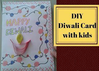 diwali cards ideas for kids
