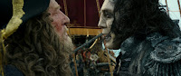 Pirates of the Caribbean: Dead Men Tell No Tales Geoffrey Rush and Javier Bardem Image (5)