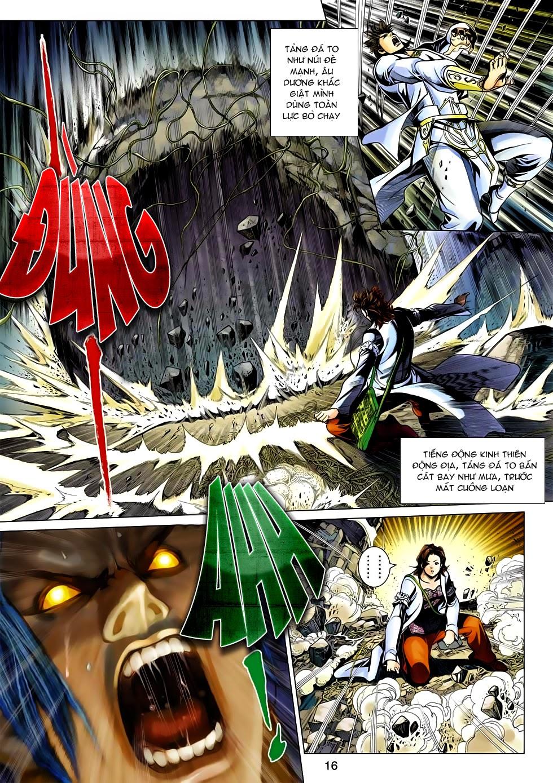 Anh Hùng Xạ Điêu anh hùng xạ đêu chap 54: kiếp hậu dư sinh thiến nữ kỳ mưu trang 16