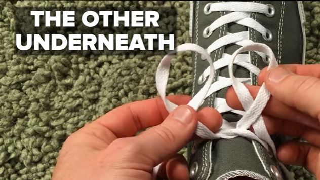 You're Tying Your Shoelaces Wrong