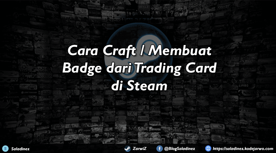 Cara Craft / Membuat Badge dari Trading Card di Steam