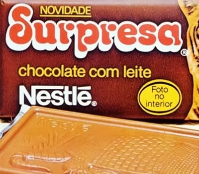Propaganda do Chocolate Surpresa da Nestlé em 1995