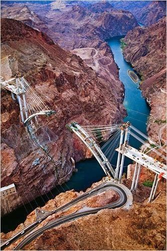 Colorado River Bridge - An Engineering and Construction Marvel | James Stillings, New York Times
