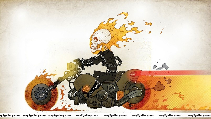 Ghost rider animated wallpaper